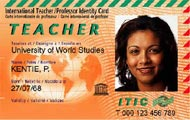 ITIC - Interantional Teachers Identification Card - Международное Удостоверение Личности Преподавателя
