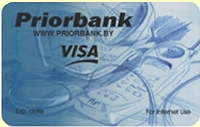 Карточка Priorbank VISA Internet